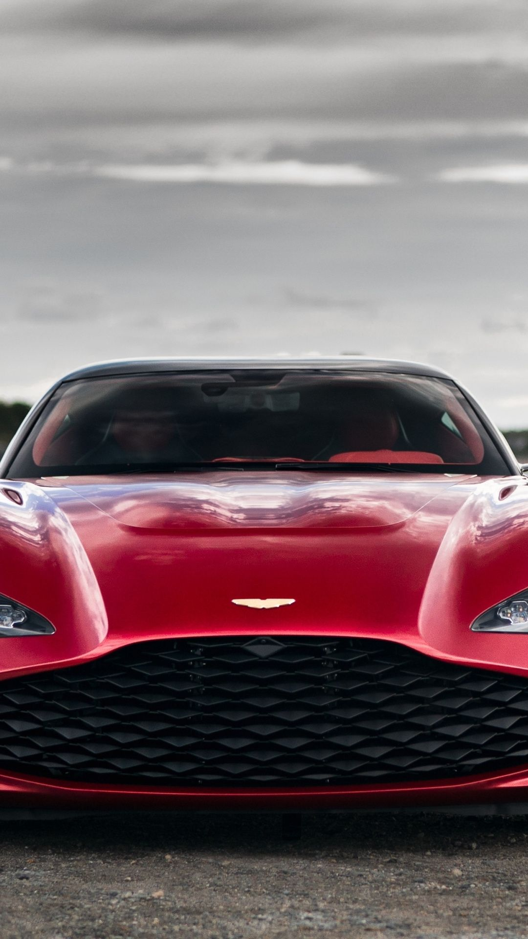 1080x1920 Red Car 2019 Aston Martin Dbs Gt Agato Front View Wallpaper Aston Martin Dbs Red Car Aston Martin