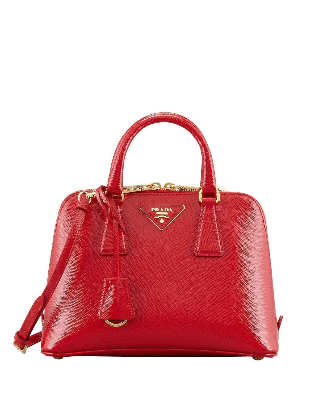 24e325d8761d Prada Saffiano Vernice Promenade Crossbody Bag