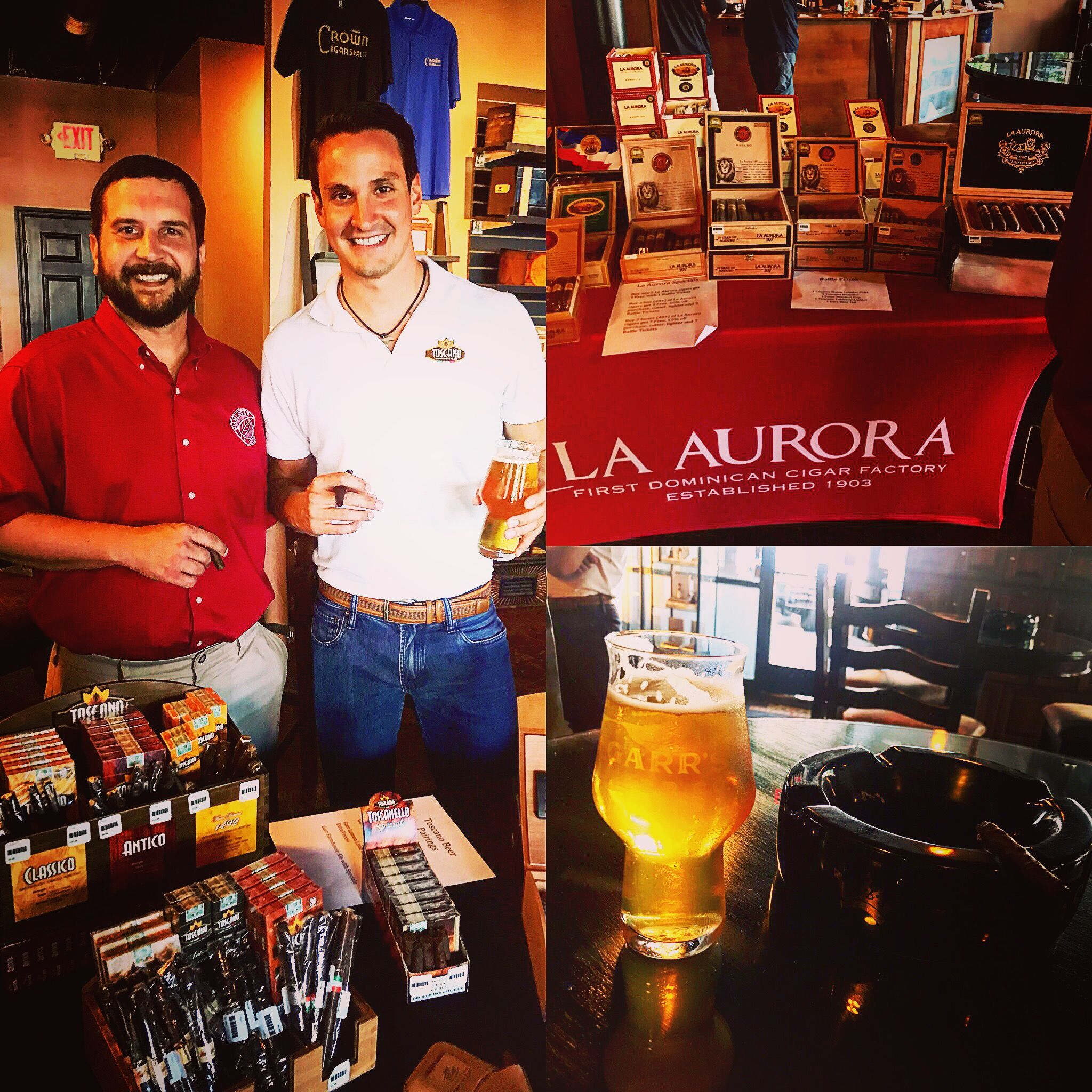 The Latest At Garr S Beer Co Franklin Cigars Night
