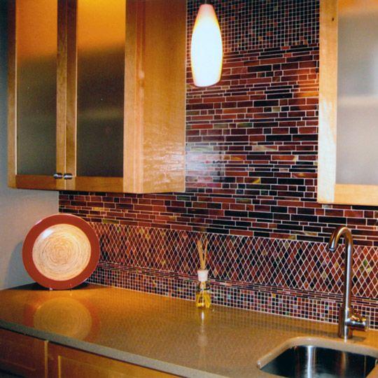 Kitchen Design - Backsplash Tile - Contemporary Home - Interior