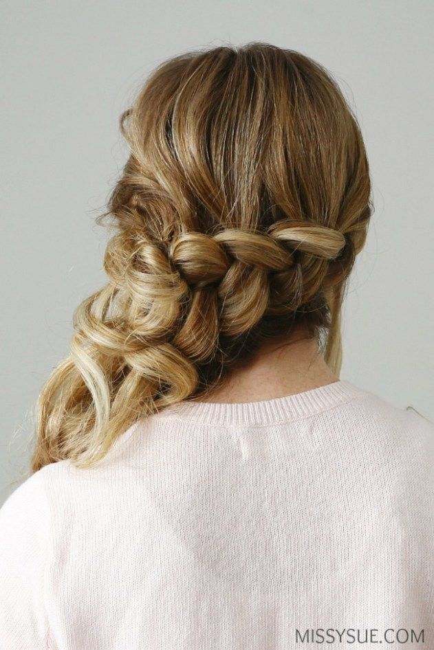 Pin By G Jacobs On Beauty Dutch Braid Hair Styles Side Updo