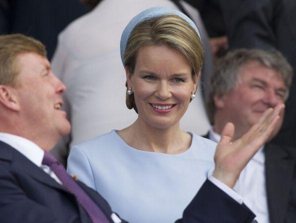 King Willem Alexander of Holland and Queen Mathilde of Belgium attend... News Photo 450224430