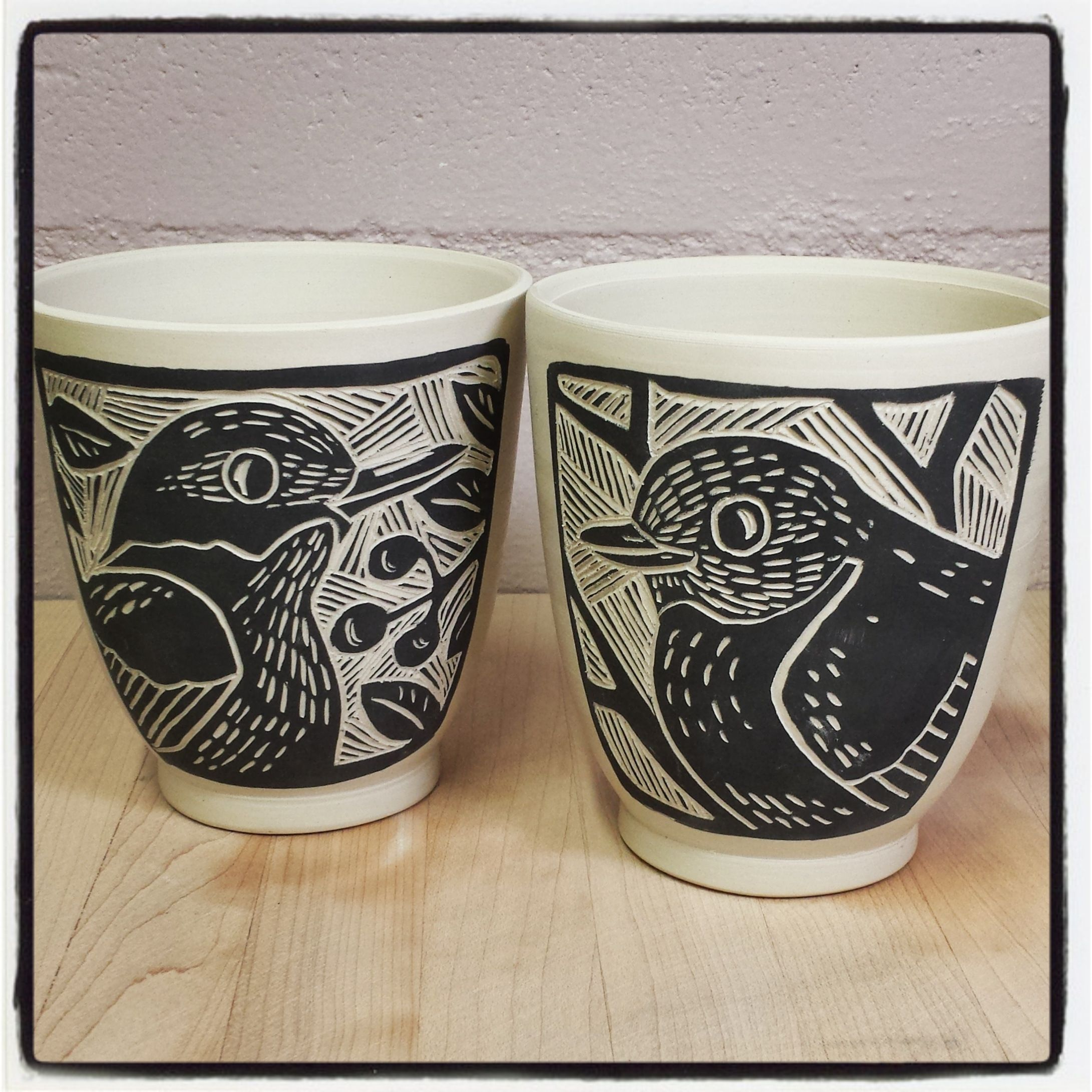 """Botanical Triad More Black""""  Sgraffito Porcelain 12″ tiles further 11 best Sgraffito designs images on Pinterest   Sgraffito  Ceramic moreover 559 best Sgraffito images on Pinterest   Ceramic pottery additionally sgraffito designs   Google Search   handmade pottery ex les moreover Ceramics in black and white as well  moreover 85 best Slip Sgraffito images on Pinterest   Ceramic pottery likewise  also 117 best Ceramics by Paula Focazio Art   Design images on additionally 65 best Sgraffito Designs images on Pinterest   Pottery ideas in addition What is Sgraffito   Pottery Technique and Tools. on design for sgraffito"""
