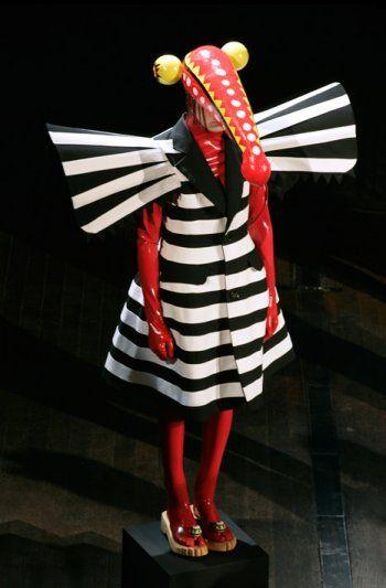 Stephen Jones for Walter Van Beirendonck Fashion Show, Spring/Summer 2008