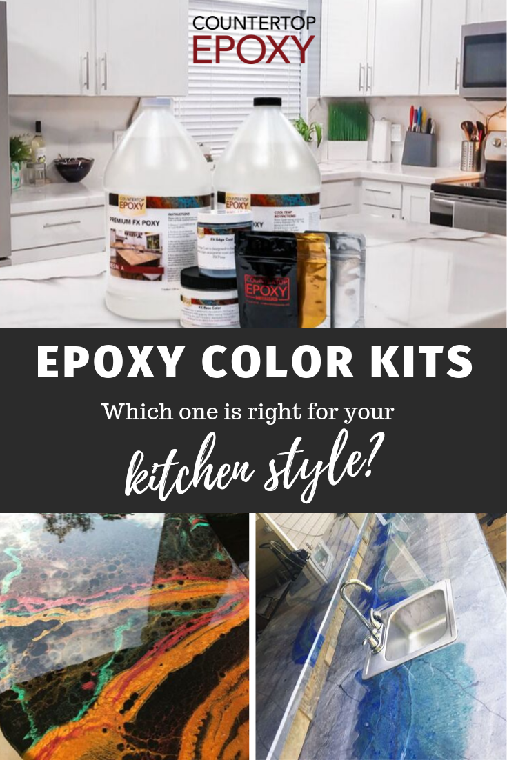 Which Epoxy Color Kit Is Right For Your Kitchen Style Kitchen