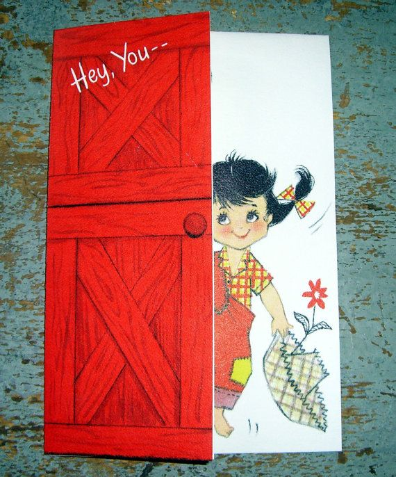 Vintage Greeting Card Hallmark by TheBackShak on Etsy, $3.00
