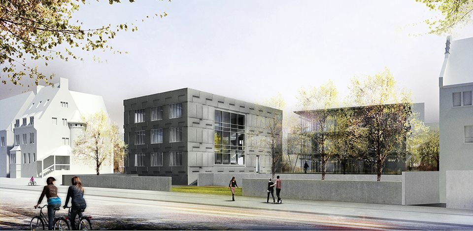 19th May 2015 Laying of the foundation stone: Max Planck Institute for Social Anthropology in Halle (Saale) - ksg architekten