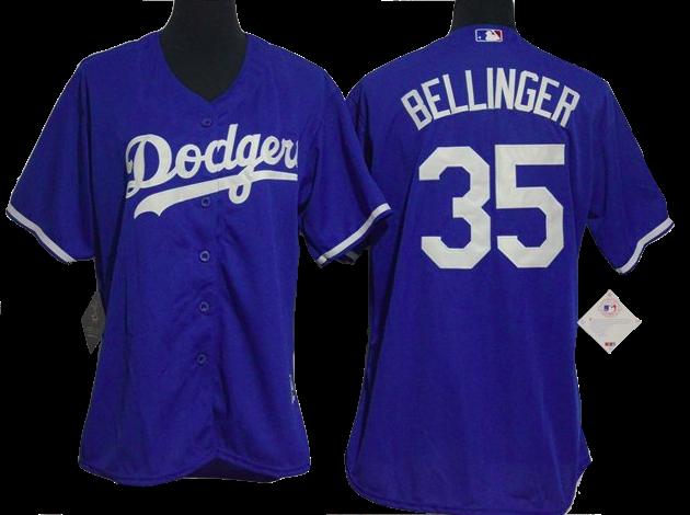 new concept 1d71d 00137 Los Angeles Dodgers Jersey - Cody Bellinger Blue Women's ...