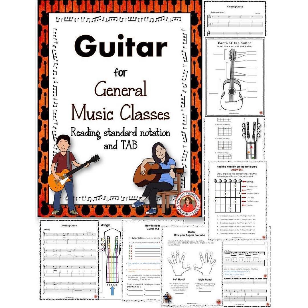 Guitar Music Lessons Guitar In The Classroom