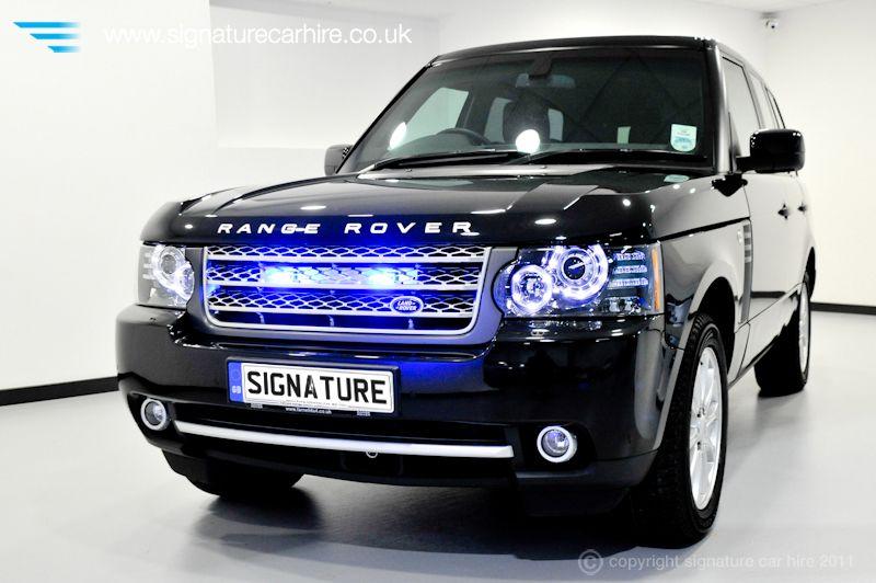 Range Rover Armoured car. Bullet proof Jaguar land
