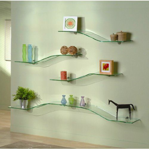 Perfect Glass Bathroom Shelves That Require Decoration   Http://www.homenhome.org