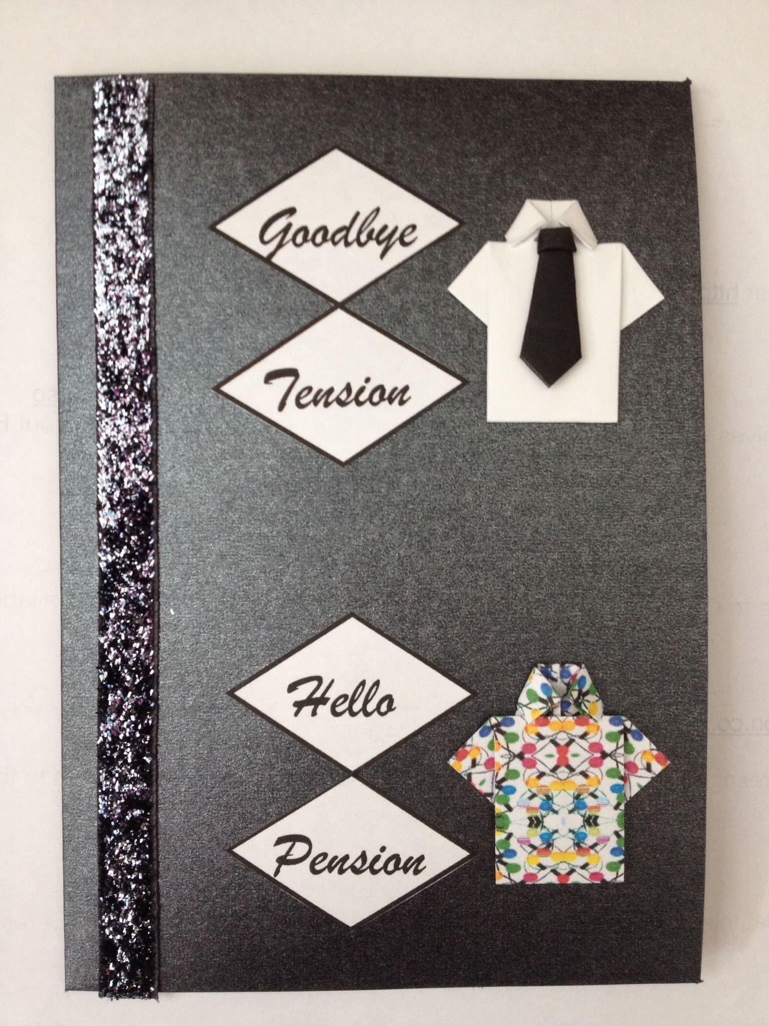 Retirement Card Craft Ideas DIY Retirement Cards