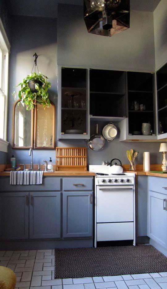 Before & After: Katie\'s Big Easy Kitchen | Kitchen | Pinterest | Küche