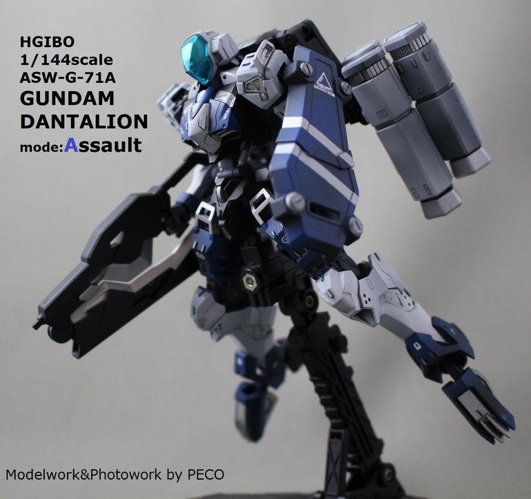 Custom Build: HG 1/144 Gundam Dantalion Assault Mode - Gundam Kits ...