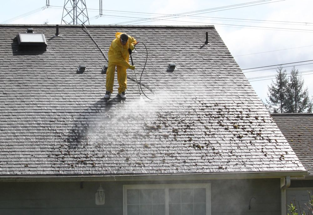 Visit us for best affordable roof pressure cleaning