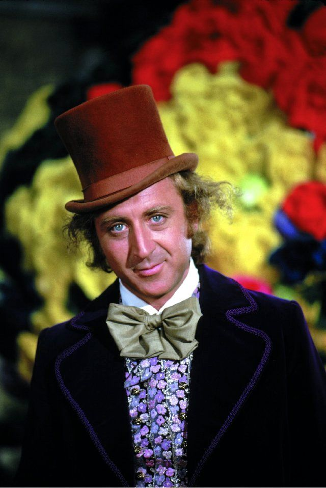 "Gene Wilder in ""Willy Wonka & the Chocolate Factory"" (1971)"