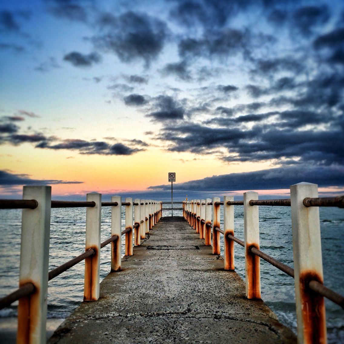 Dawn at Chelsea Beach, Melbourne