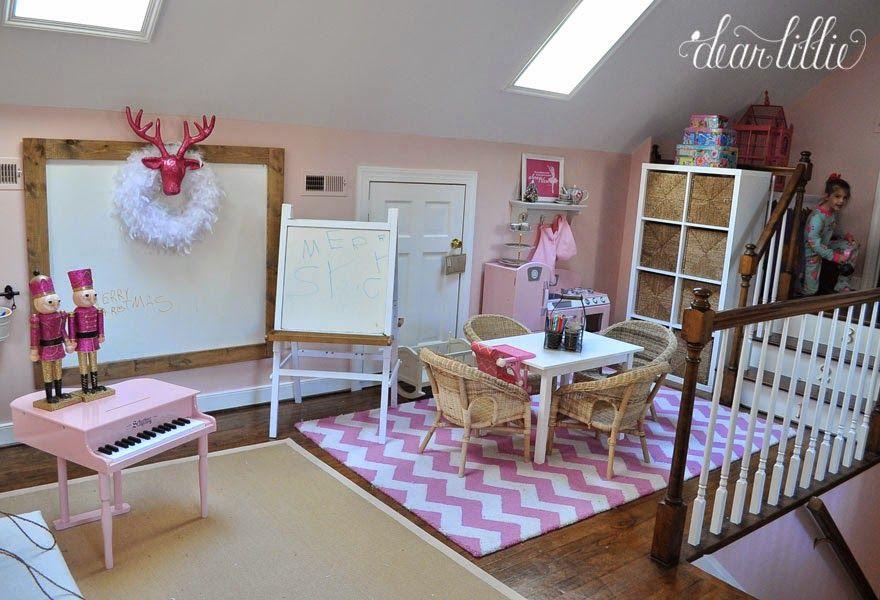 Pin On For Cadencerosemary A very pink christmas playroom