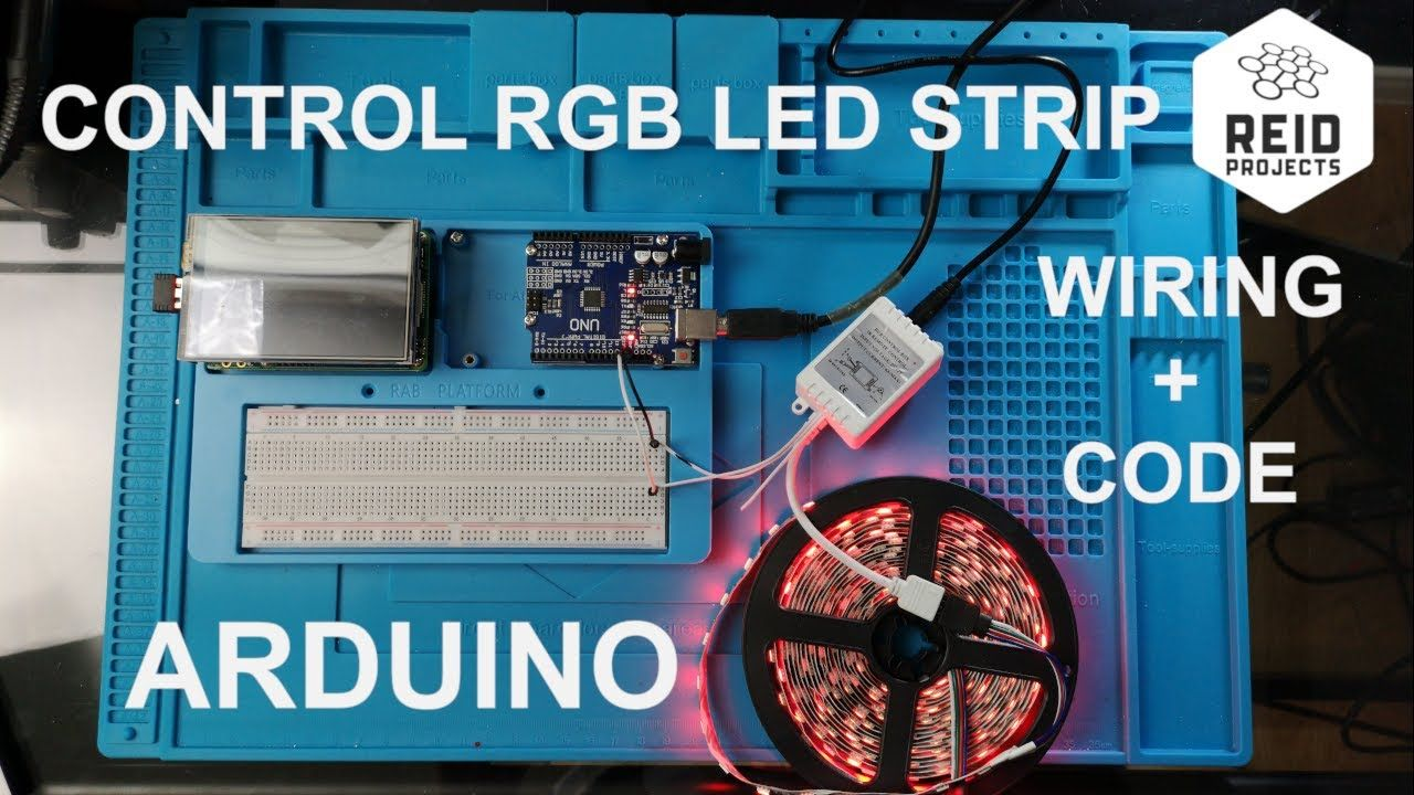 How to Control Analog RGB LED Strip with Arduino Easy