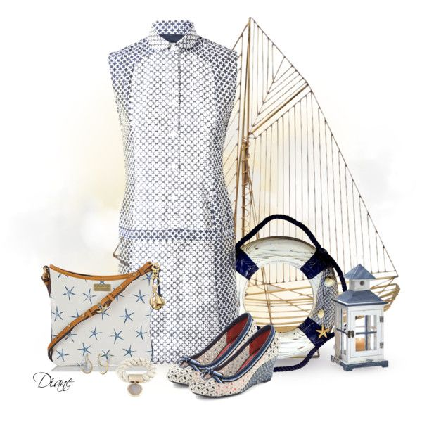 Nautical, created by diane-hansen on Polyvore