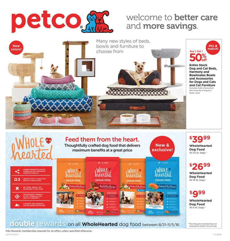 Petco Weekly Ad August 26 24 September 2016 Http Www Olcatalog Com Petco Petco Weekly Ad Html Petco Weekly Ads Ads