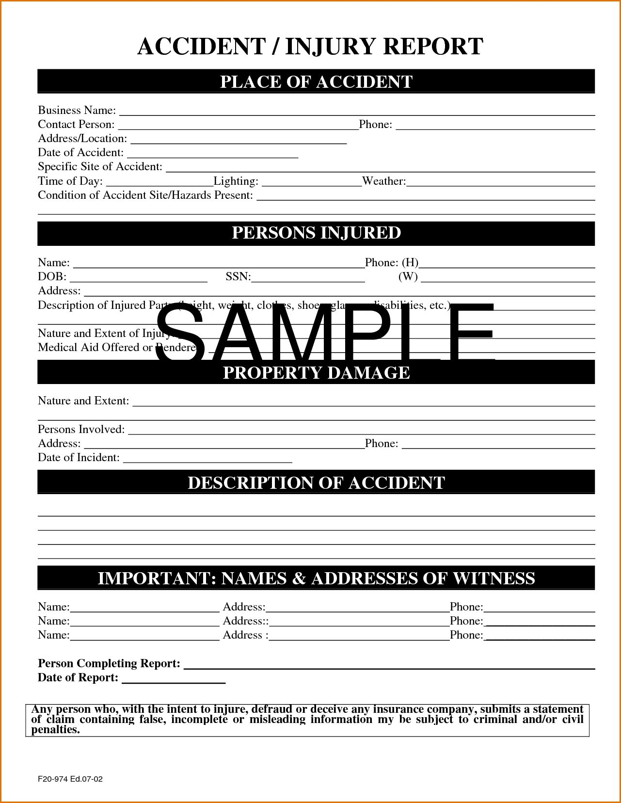 Itil Incident Report Form Template Awesome Free Printablerd Drop Throughout Hazard Incident Report Form Te Incident Report Form Incident Report Report Template