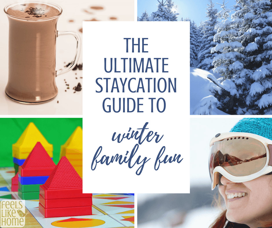 The Ultimate List of Staycation Ideas for Winter Family Fun ...