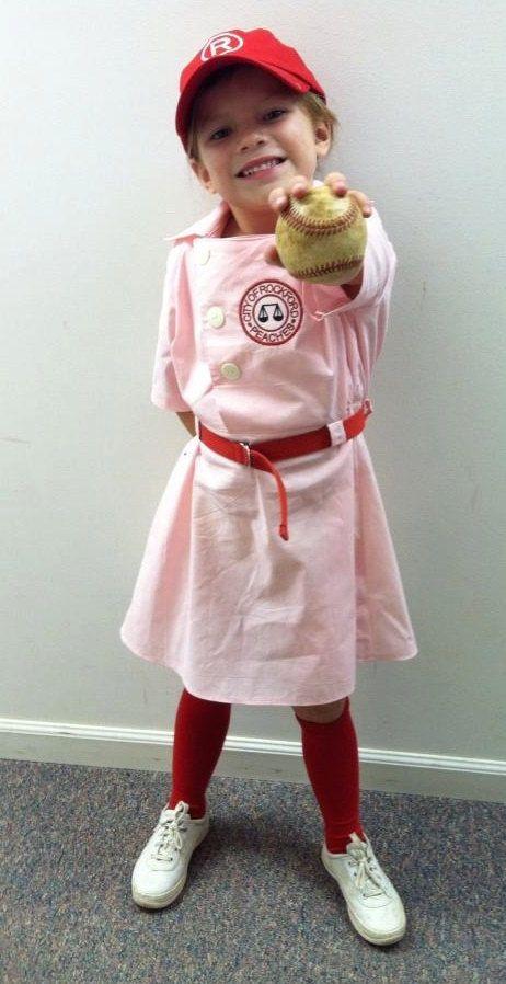 Rockford Peaches Dottie inspired uniform by SilverThreadsbyRonda - 18 month halloween costume ideas