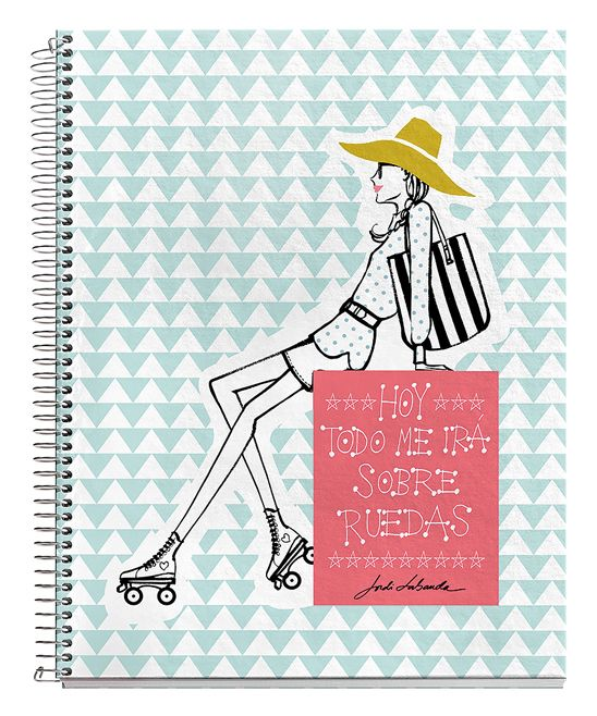 On a Roll Spiral Notebook