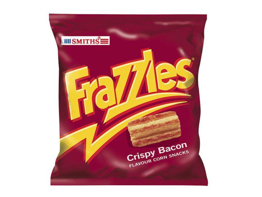 Smiths Frazzles Snacks Bacon Marmite Crisps