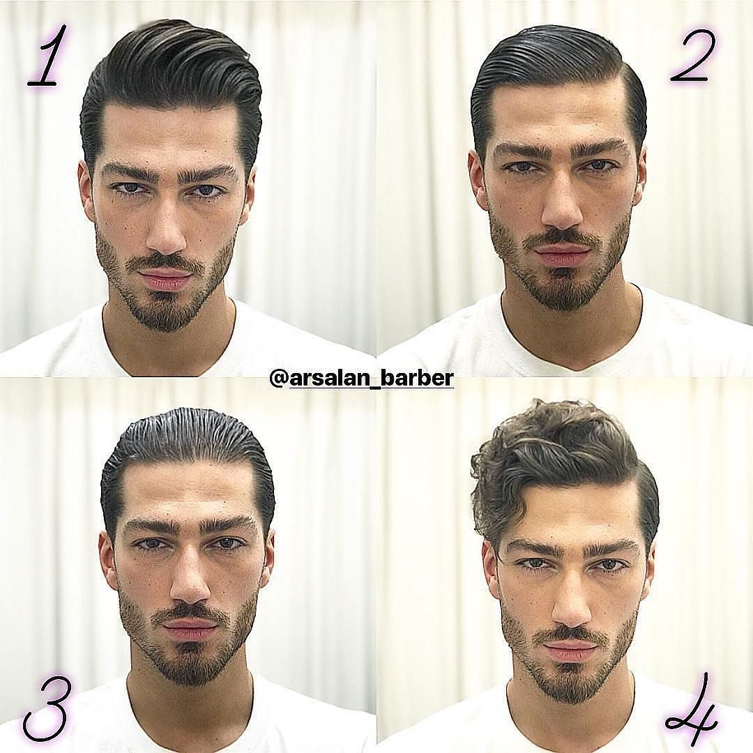 123 Or 4 Which Style Is Your Favorite By Arsalan Barber Hair Haircut Haircare Haircolor Hairstyle Hairstyle Mens Hairstyles Beard Life Beard Love
