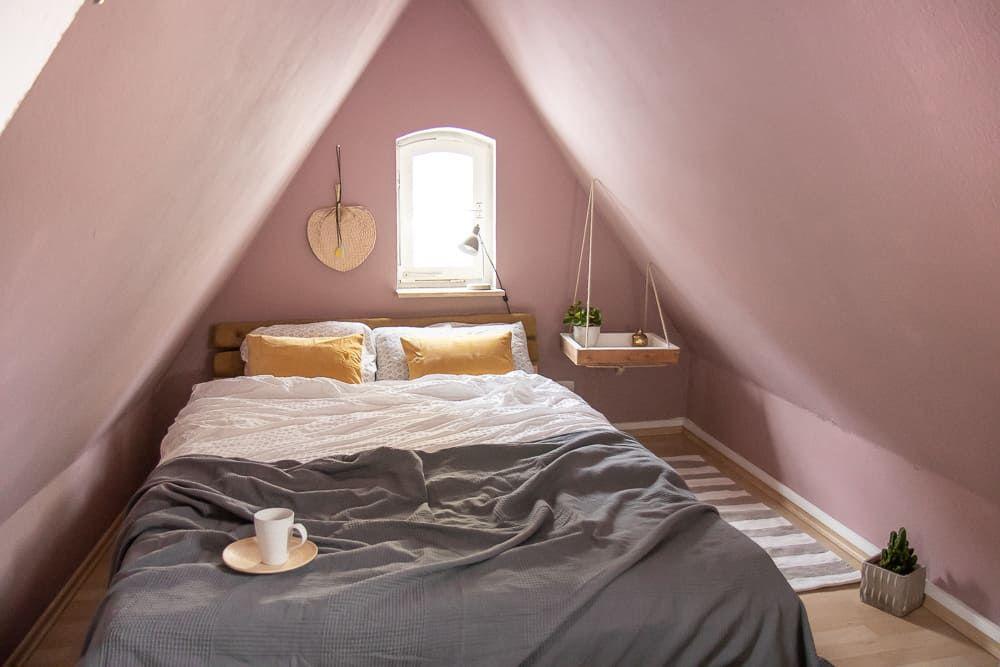 » Betthaupt beziehen & Schlafzimmer wintergemütlich machen