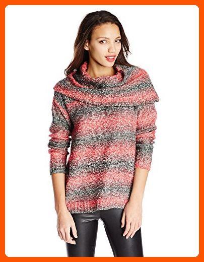266edaef2d9 Kensie Women s Ombre Cowl Neck Sweater