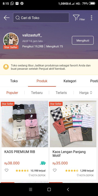 Pin Oleh Rts Aprillia Di Produk Di 2020 Wanita Bergaya Kaos Wanita Sweter Wanita