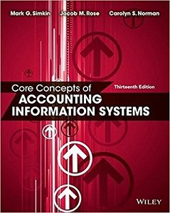 Core concepts of accounting information systems 13th edition core concepts of accounting information systems 13th edition solutions manual by simkin norman rose free download fandeluxe Gallery