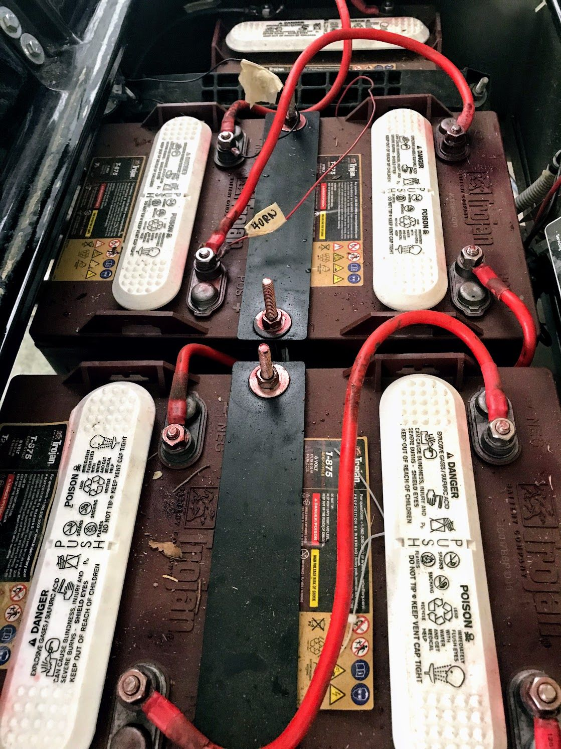 medium resolution of club car battery cables will need replacing or upgrading did you know a 4 gauge wire is thicker than a 6 gauge clubcarparts