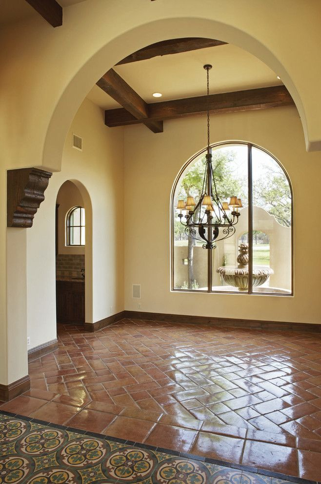 Should we put beams in the dining room? | Mexican Interior ...