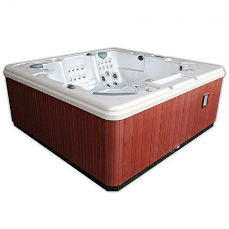 Home And Garden Spas Lpi106x12 5 Person 106 Jet Spa With Mp3 Auxiliary