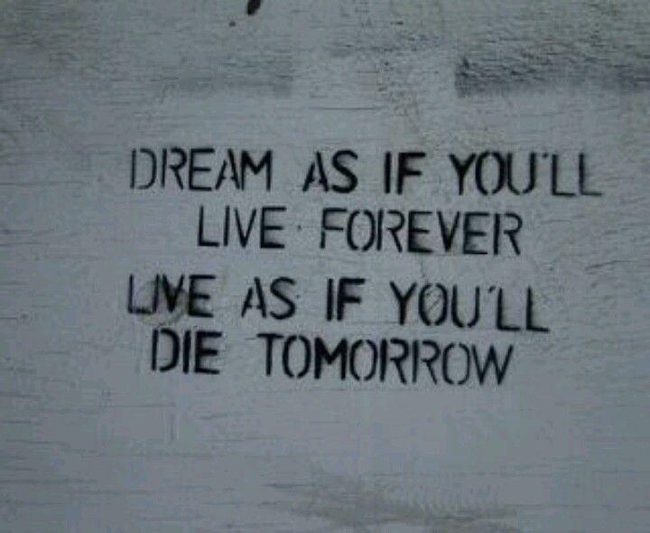 tomorrow isnt promised
