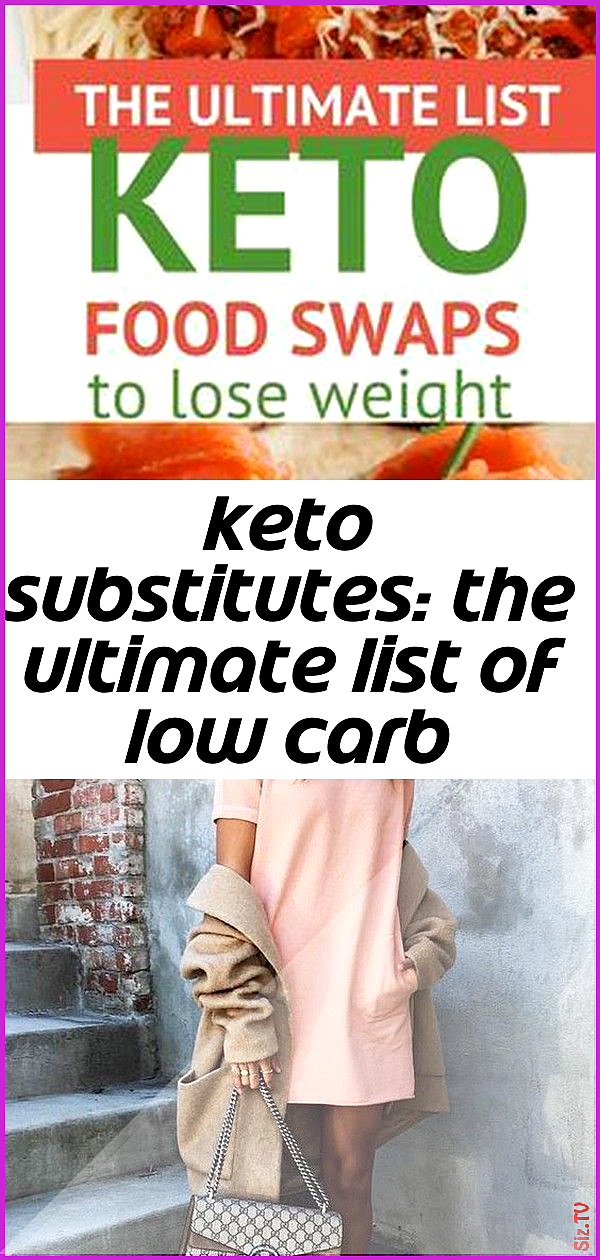 Keto substitutes the ultimate list of low carb swaps 2 Keto substitutes the ultimate list of low car...