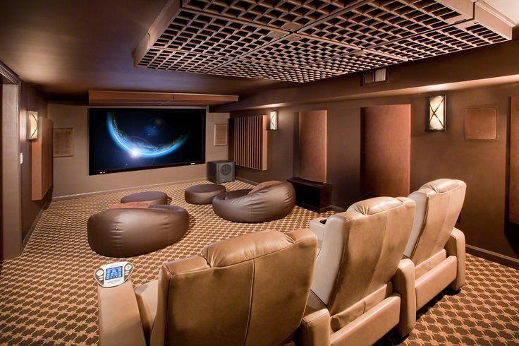 Basement home theater ideas, DIY, small spaces, budget, medium