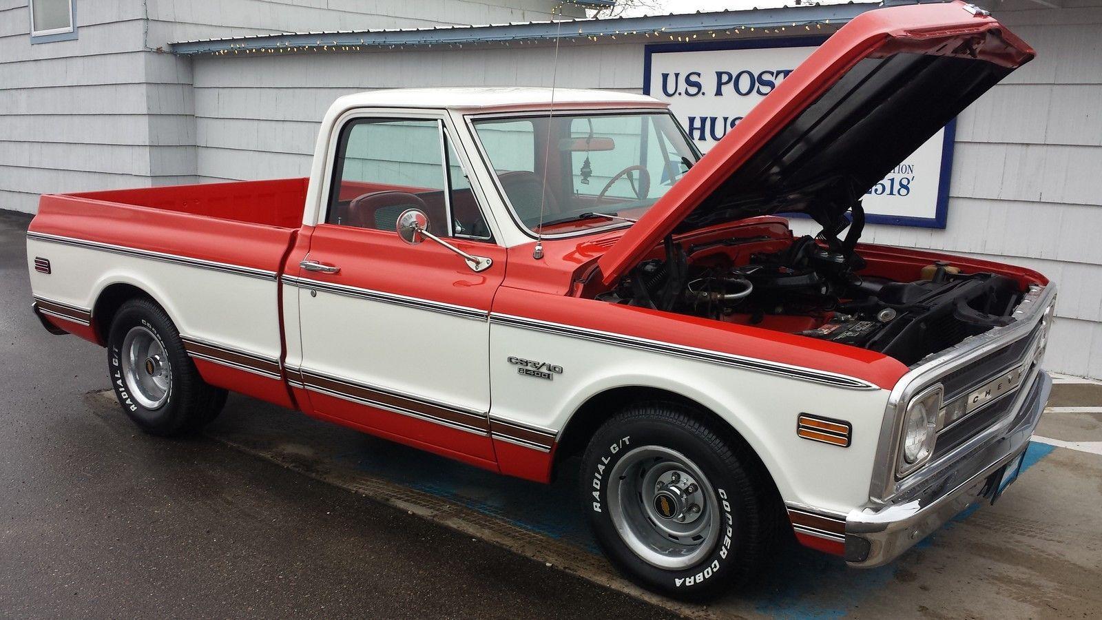 1970 Chevy Cst 10 396 Short Box Chevrolet 70 67 72 Pickup Gmc 1971 1969 1972 Chevy Trucks Chevy 72 Chevy Truck