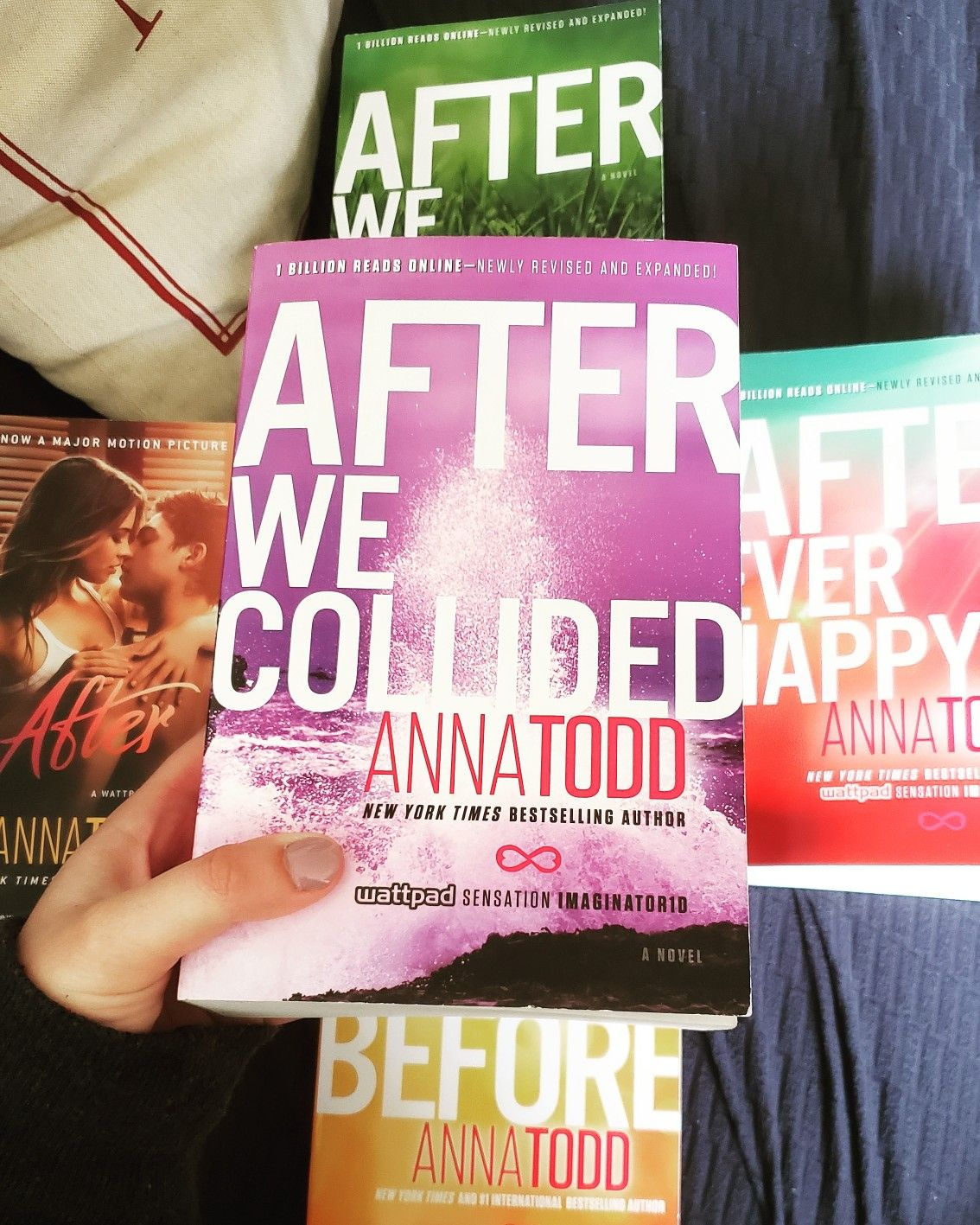 The Second Book In The After Series By Anna Todd Continues The Journey Of Hardin And Tessa After The Knowledge Of Bestselling Author Book Series Motion Picture