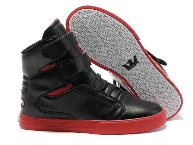 08ef4140bbf3 Mens Supra TK Society Black White Shoes