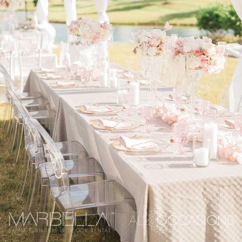 Wedding Rentals Event Rentals Wedding Inspiration Event Inspiration Table Renta Outdoor Wedding Reception Wedding Table Decorations Diy Outdoor Wedding
