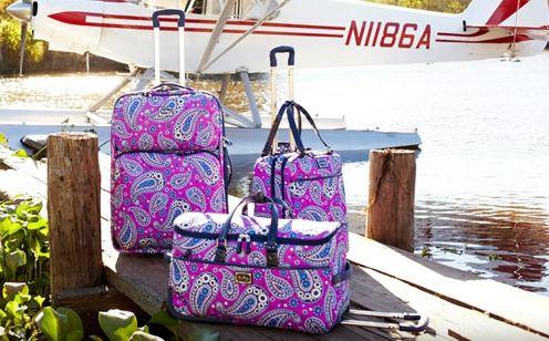 d27ddcbd2d Vera Bradley Luggage Set