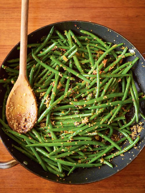 Recipe Of The Week Green Beans With Mustard Seeds And Ginger