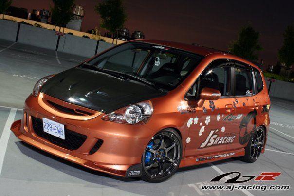J's Racing 2007 Honda Fit | Honda fit, Honda fit sport ...