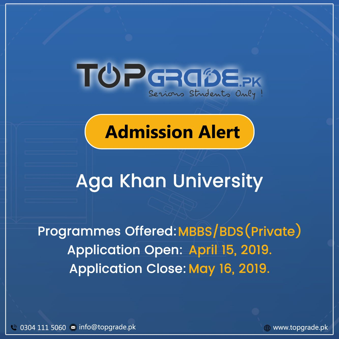 ee03d98791ddeb311b74fd3707027503 - How To Get Admission In Aga Khan Medical College