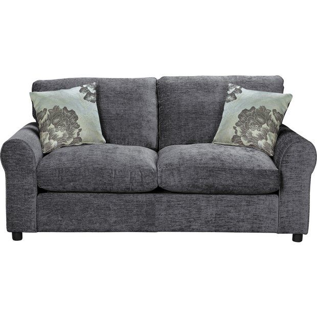 Buy Home Tessa 2 Seater Fabric Sofa Bed Charcoal At Argos Co Uk Your Online Shop For Sofa Beds Chairbeds And Futons Living Room Furniture Home A Koltuklar